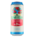 Picture of Beer Somersby Wildberry Can 0% Alc. 0.5L (Case=24)